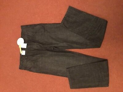 Boys M&s Indigo Collection Black Jeans - Age 13-14 Years (Bnwt)