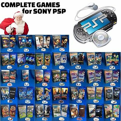 🎮 Your Choice of ҩ● GAMES FOR SONY PSP ●ҩ Complete & Near New + Free Post 20/11