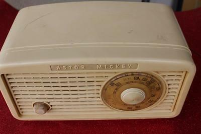 Astor MICKEY Vintage Radio Working & Tested Melbourne