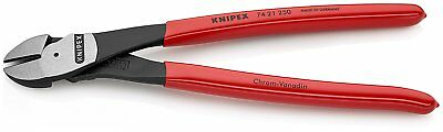 """Knipex 7421-10 Ultra High Leverage Diagonal Cutters with Angled Head - 10"""""""