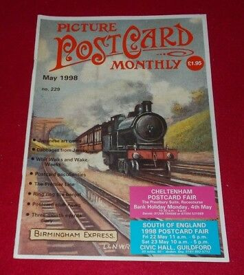 Picture Postcard Monthly Magazine No.229 May 1998