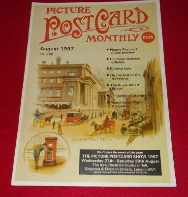 Picture Postcard Monthly Magazine No.220 August 1997