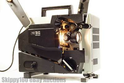 ELMO 16-CL (Channel Loading) 16mm Film Optical Projector W/Sound - TESTED READ