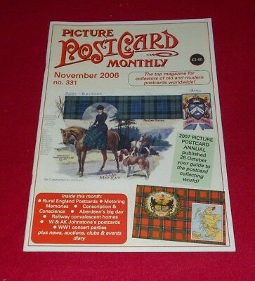 Picture Postcard Monthly Magazine No.331 November 2006
