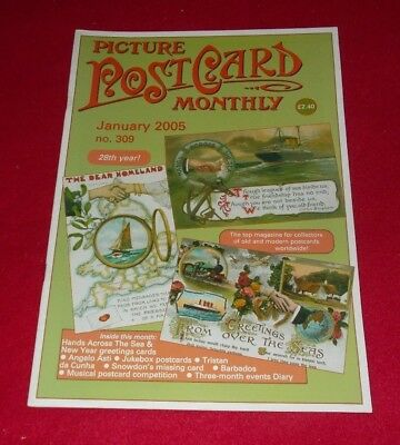 Picture Postcard Monthly Magazine No.309 January 2005