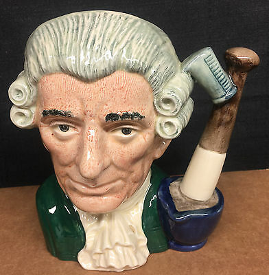 "Royal Doulton D6567 Apothecary Toby Jug Lg  7 3/8"" Made in England"