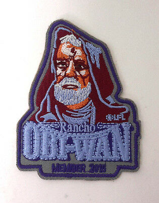 """Star Wars Rancho Obi-Wan Special Patch- 3.5""""- Mailed from USA (SWPA-KL-20)"""