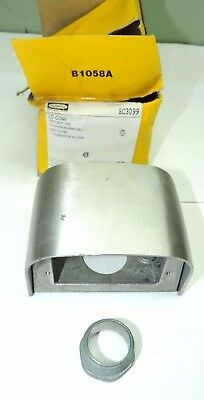 """HUBBELL SC3099 LO-CON SERVICE FITTING Aluminum Housing 1"""" chase nipple included"""