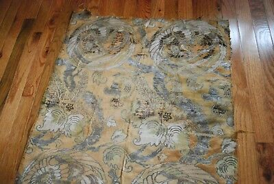 antique oriental tapestry chinese japanese