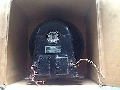 Jensen Valve Tube Radio Speaker A12/Original Crosley DYNACOIL Speaker Box/Books
