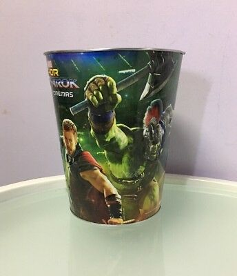 Marvel Thor Ragnarok Only In Cinemas Popcorn Tin Bucket