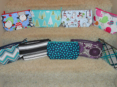 Thirty One Thermal Zippered Pouch~PICK YOUR PATTERN~new in pkg~FREE SHIP