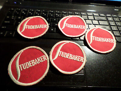 Lot of 5  -----> Studebaker Service ** LAZY S ** Patches   ORIGINAL