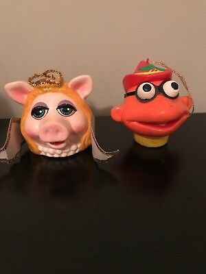 Miss Piggy And Scooter Christmas Decorations