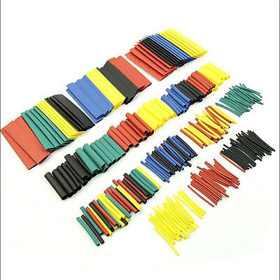 328Pcs 5 Colors Electrical Heat Shrink Tube Tubing Wrap Sleeve Assorted 8 Sizes
