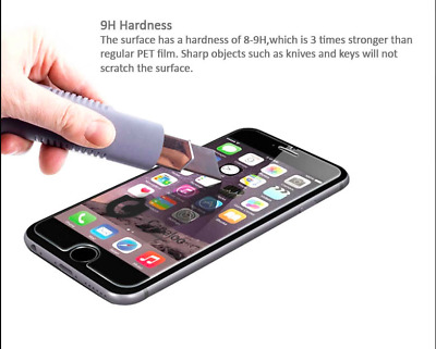 Premium Tempered Glass Screen Protector for iPhone Phone Case Cover