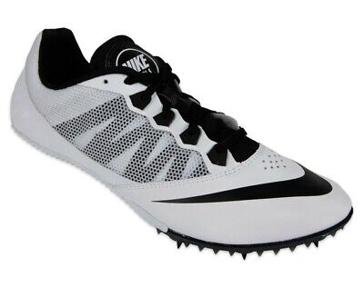 more photos 339b5 f3101 New Nike Zoom Rival S 7 Mens Track   Field Spikes Sprint Running Shoes White