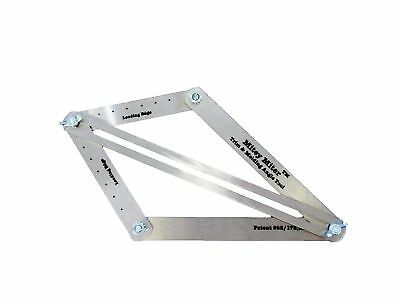 Miter Saw Bevel Gauge - Protractor Angle Finder  Crown Molding Jig  Construct...