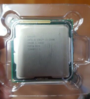 Intel Core i5-2500K CPU 3.3 GHz 6M Cache Unlocked Socket LGA 1155
