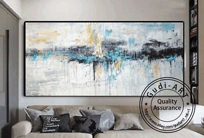 GUDI-Modern Hand-Painted Abstract Home Oil Painting Decor Art Wall On Canvas