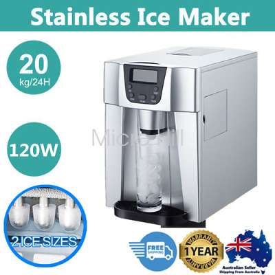 Auto Ice Cube Maker Fast Easy Benchtop Portable Freezer Machine Home 3.2L AU