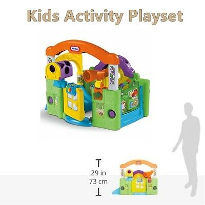 Activity Toddler Baby Playset Indoor Outdoor Kids Fun Time Multi Functional Toy