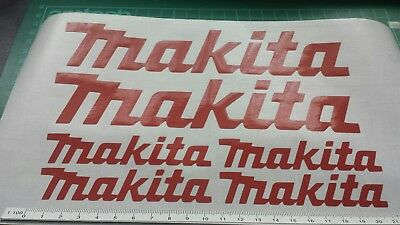 For MAKITA style HONDA MOTO GP DECAL STICKER VINY MOTORCYCLE 125 MOTORCROSS