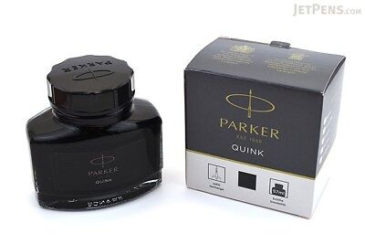 Parker Quink Bottle (30 ML/1 Oz) (Black Ink) Original & New Free Shipping