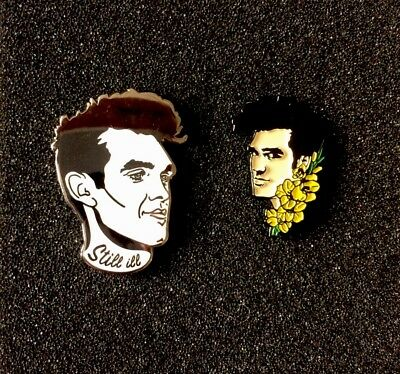 The Smiths Morrissey Pin Badges A Guy Called Minty Casual Connoisseur Madchester
