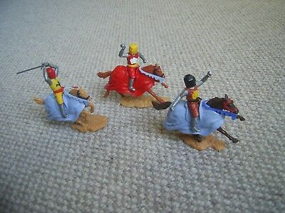 Timpo Knights C15 on Horses  .