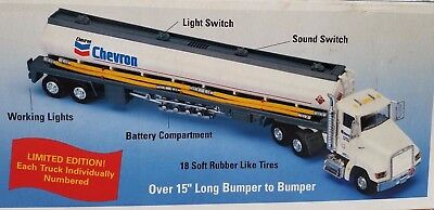 """""""Chevron 1998 Limited Edition Toy Tanker"""" Lights & Sounds"""