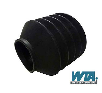 Universal Easy Fit Coupling Bellows or Gaiter for Caravans & braked Trailers
