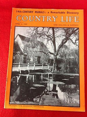 COUNTRY LIFE Magazine : 4th April 1947