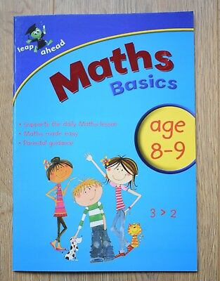 Year 4 Maths Educational Activity Books Workbook Letts Age 8 9 KS2 Homework New
