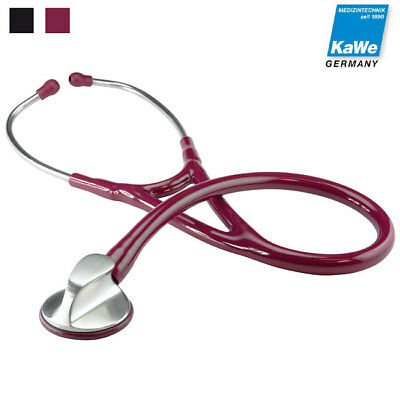 KaWe TOP CARDIOLOGY flat-head stethoscope for cardiologists, stainless steel