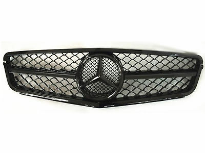 Mercedes Benz W204 C63 Grille Grill 2008-2013 C-Class Amg Black