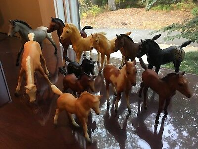 VINTAGE Collection of 1970s - 1980s Breyer Horses -12 foals