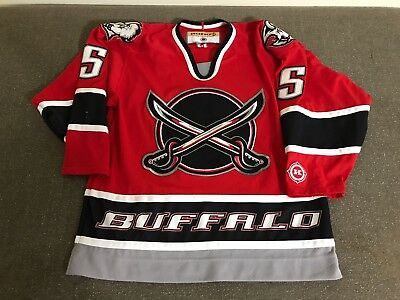 ce08dadc9 ... store free shipping signed buffalo sabres jersey jsa  sabresdisplayimage1345261908 buffalo sabres jason woolley red swords  alternate