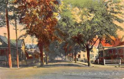 Florence South Carolina Gilliard Street Scene Antique Postcard K77931
