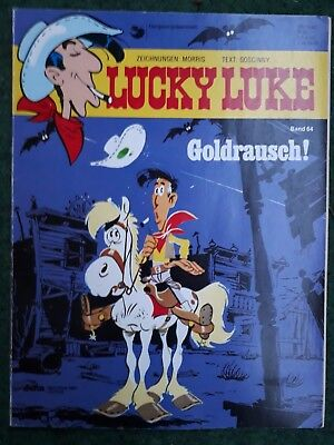 Lucky Luke Comic Band 64 Goldrausch Softcover