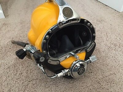 Superlite 27 SL27 diver dive diver's commercial helmet Kirby Morgan