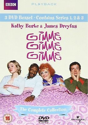 GIMME GIMME GIMME THE Complete Collection 2006 DVD BUNDLE BOXSET KATHY BURKE NEW