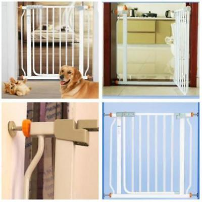 Pressure Mounted Baby Gates Threaded Spindle Rods, 4 Pc Walk Through Baby Kit LJ