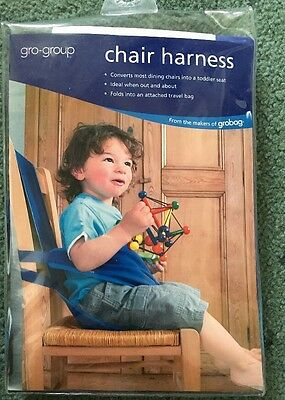 Chair Harness BLUE NEW Gro Group