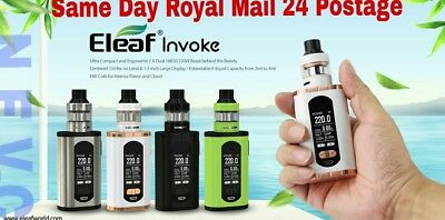 Eleaf INVOKE Kit with ELLO T Tank 220W.Free same day RM 24 shipping
