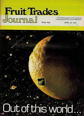 1981 10 APRIL 57342 Fruit Trades Journal Magazine SPECIAL FEATURE MOROCCO