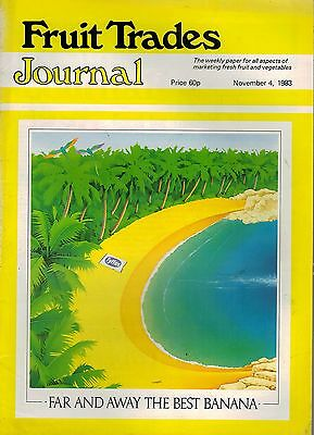 1983 4 NOV 57349  Fruit Trades Journal Magazine  BC APPLES SPECIAL REPORT
