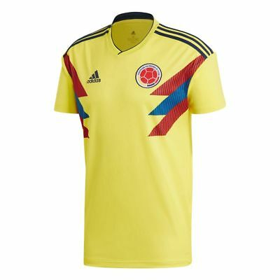 671543e63 adidas Colombia FIFA WC World Cup 2018 Home Soccer Jersey Yellow Kids Youth
