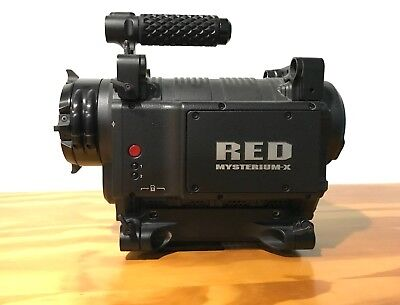 RED One Digital Cinema MX Camera Mysterium-X 4.5K PL mount w/EVF and LCD EXTRAS!