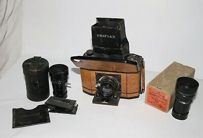 Great Brown National Graflex Outfit - No reserve